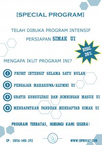 program intensif simak ui